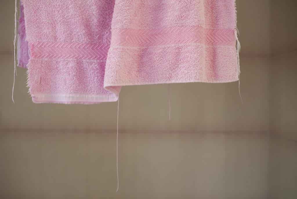 Handduk på tork i Vabruari