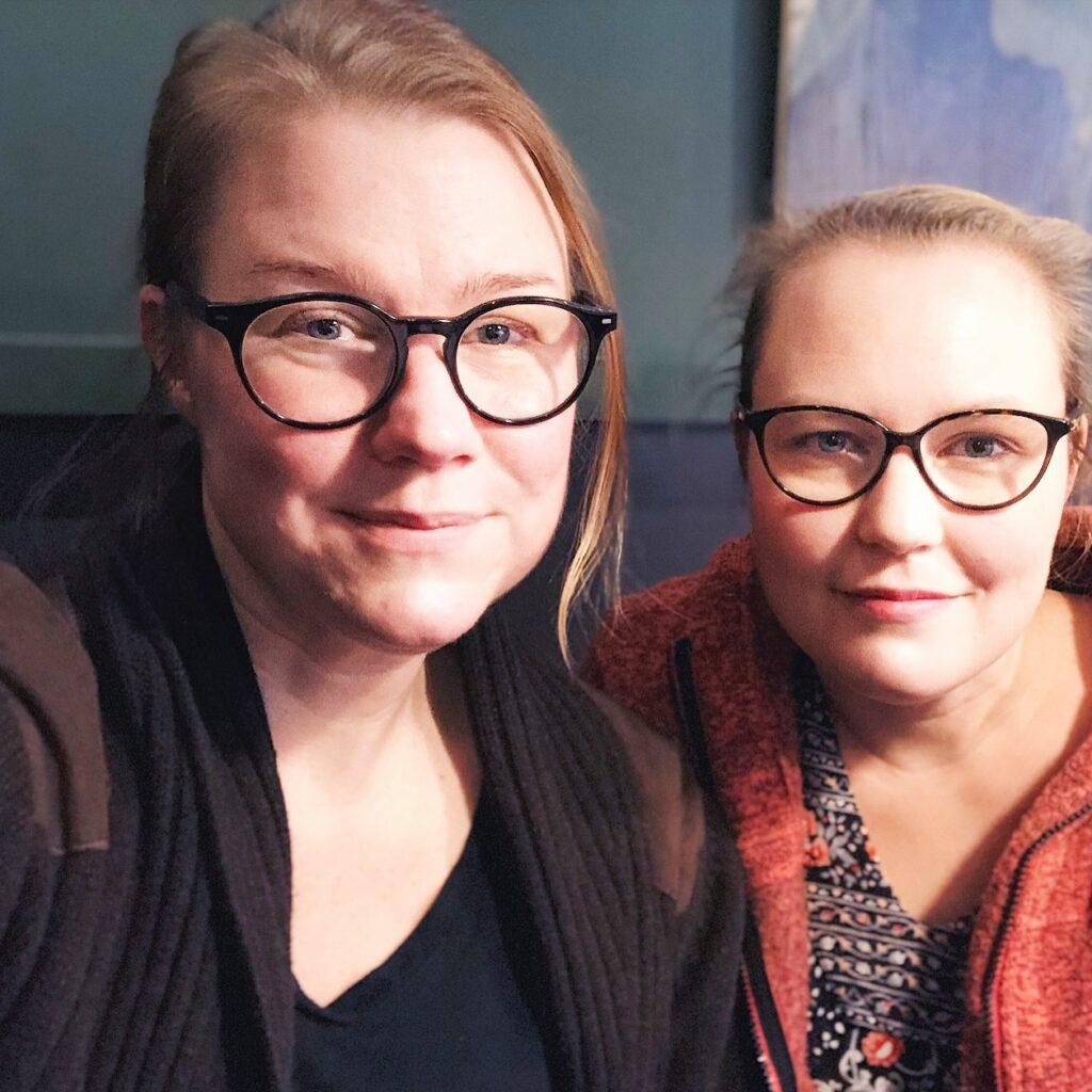 Karin Johansson och Märta Engblom