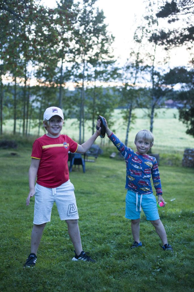 Sommar och familjeliv