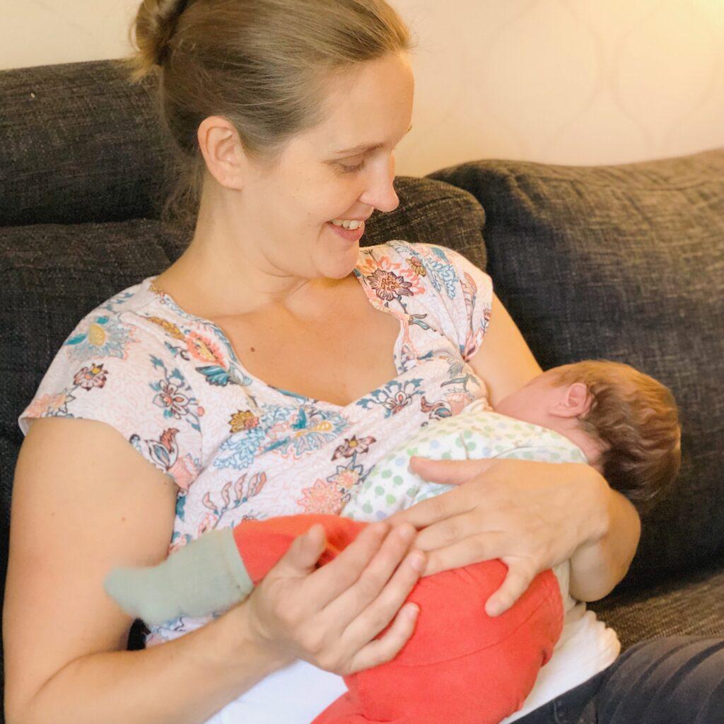 Spädbarnets behov, amning