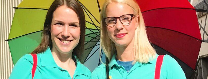 Barnmorskor på Uppsala barncentrum och vårdcentraö