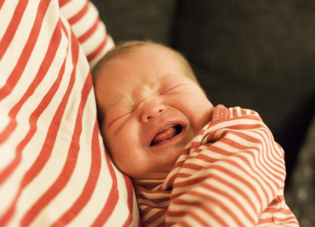 Hur ofta ska barnet amma?
