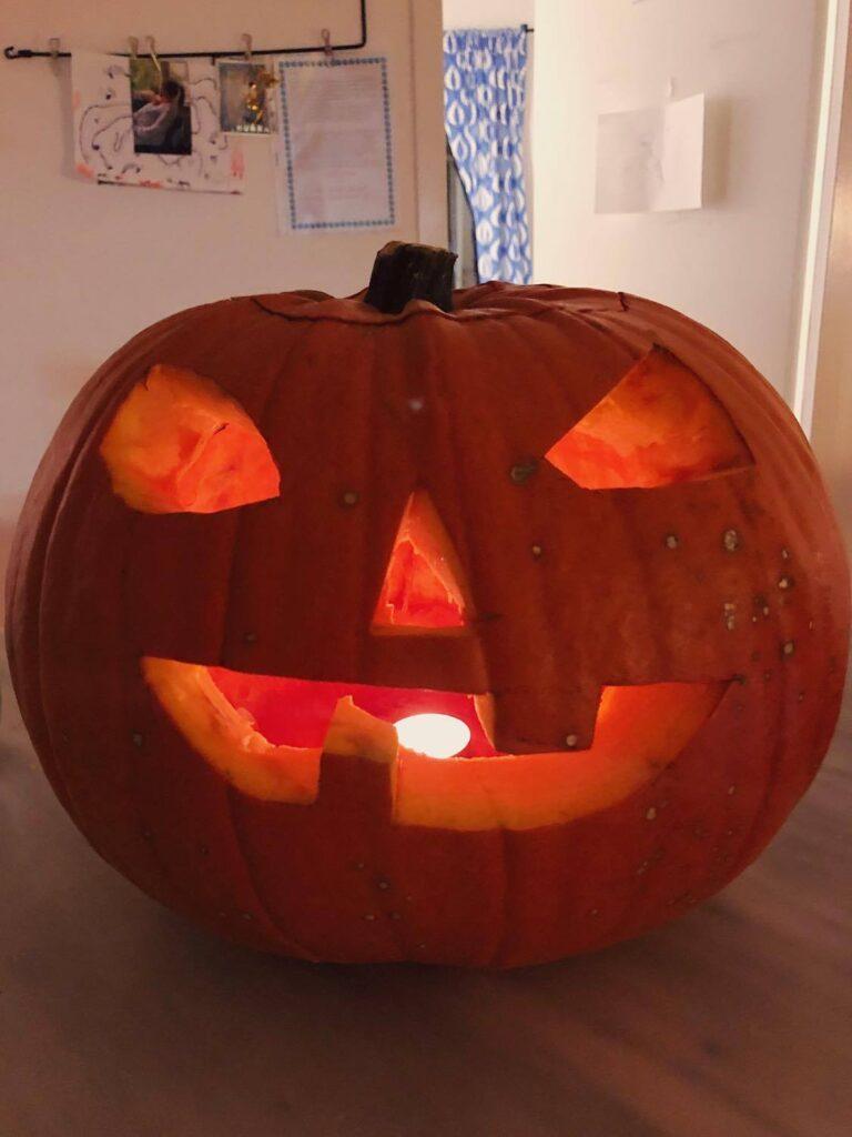 Halloween, pumpaljuslykta
