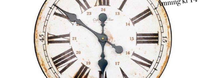 Amningsklockan tickar