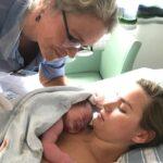 Johanna Sedeborn, jordmor och barnmorska